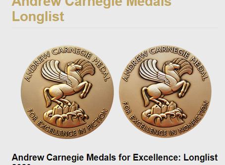 PARKLAND longlisted for ALA Andrew Carnegie Medal