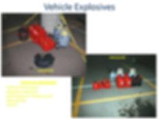 Columbine propane bomb car, explosive clock incendiary device gasoline tanks