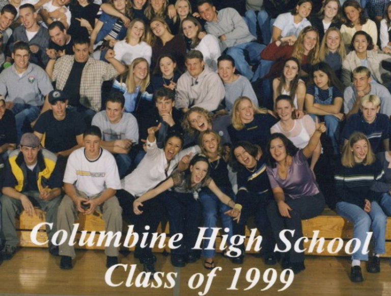 Columbine yearbook class photo 1999