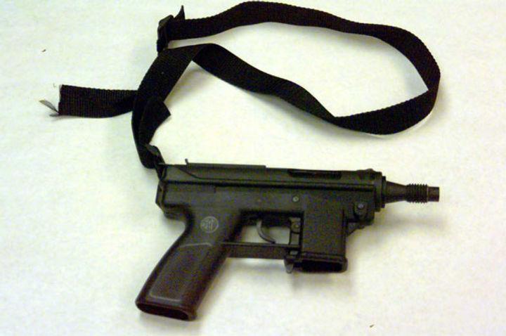 Dylan Klebold's TEC-9 semi-automatic gun Columbine