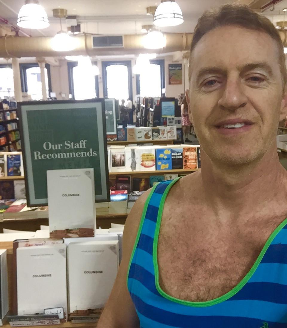 Columbine autographed Dave Cullen Barnes & Noble Union Square NYC