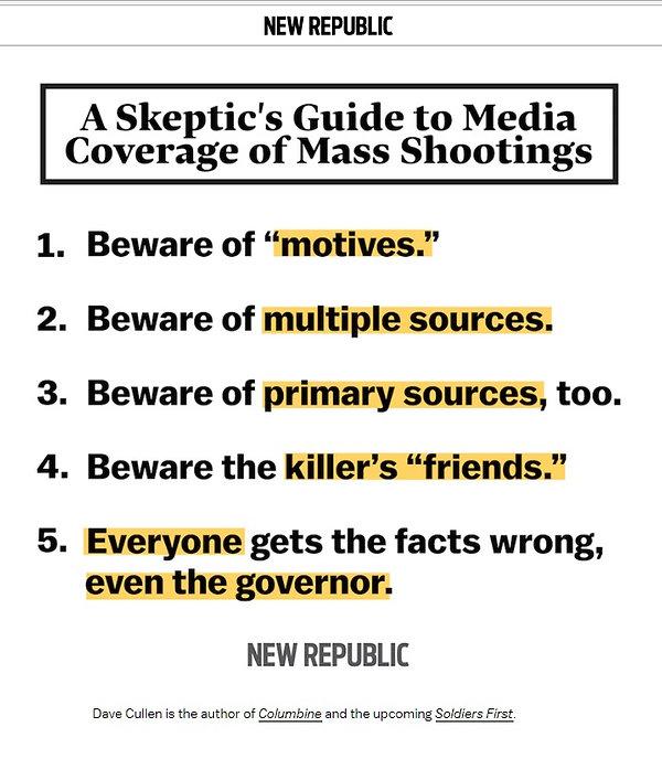Skeptic's Guide to Media Mass Murder, school shootings, Columbine