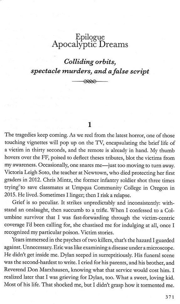 Columbine epilogue, Apocalyptic Dreams