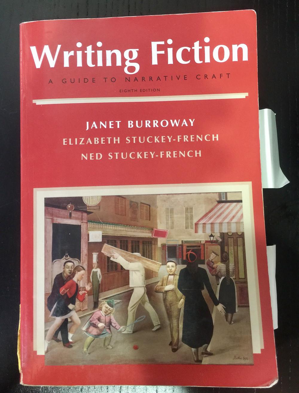 Writing Fiction, guidebook, Janet Burroway, narrative craft