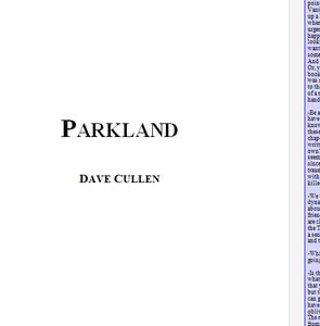Parkland draft book