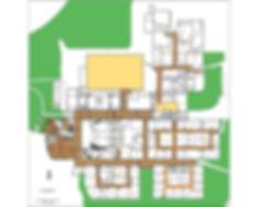 Columbine police crime scene diagram upper level