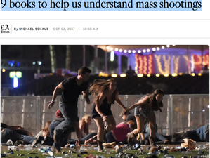 9 books to help us understand mass shootings