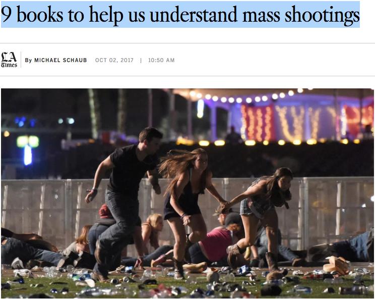Las Vegas shooting Columbine tragedy LA Times