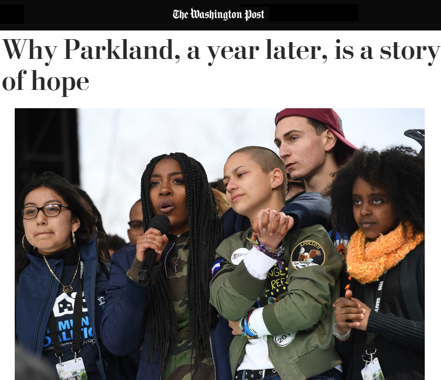 Emma González Tyra Hemans Naomi Wadler MFOL March For Our Lives