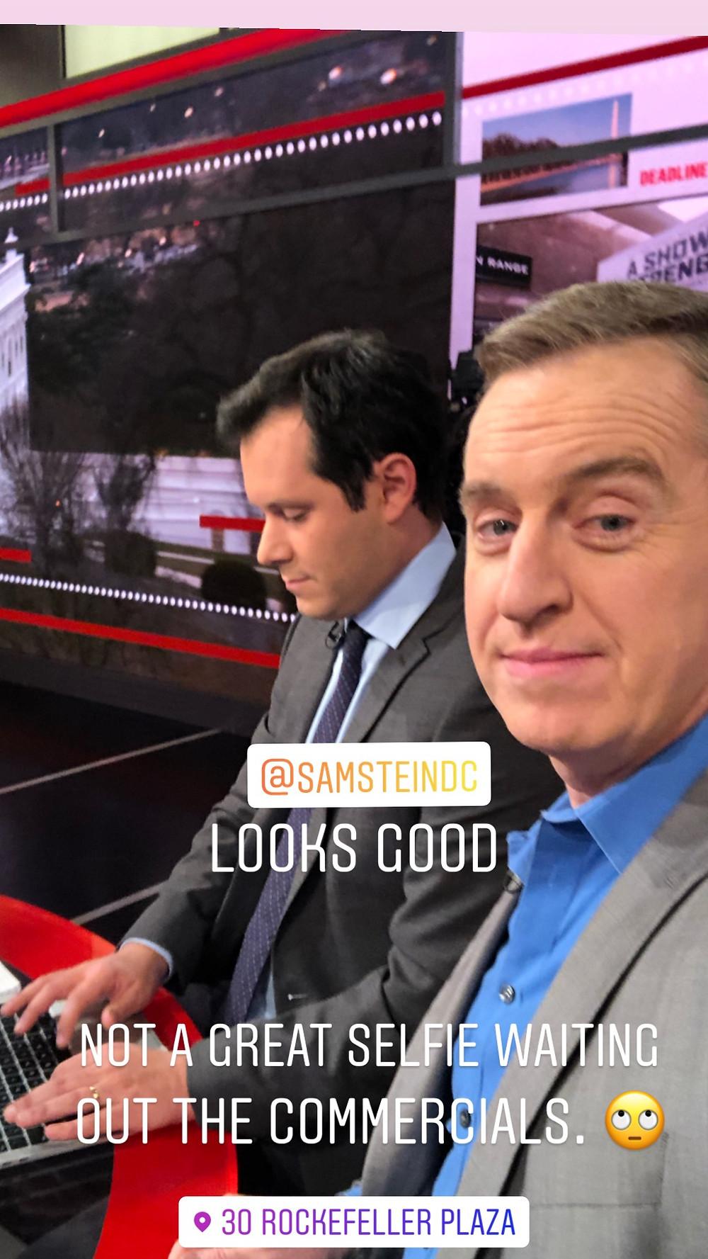 Sam Stein Dave Cullen Parkland MSNBC Deadline Whitehouse 30 Roc