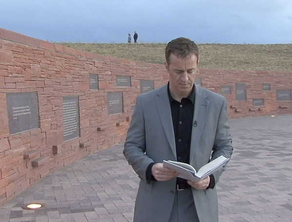 Columbine memorial Dave Cullen reading Ernest Hemingway