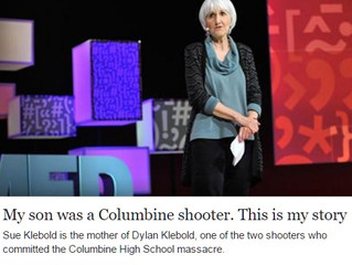 Sue Klebold's TED talk on Dylan Klebold