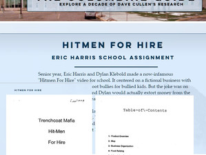 Eric's 'Hitmen For Hire' assignment added to Columbine Guide