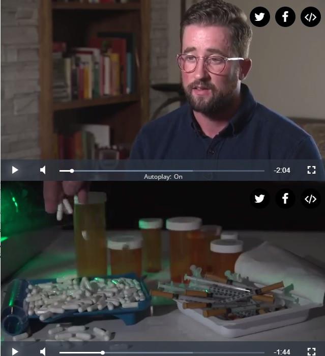 Austin Eubanks Columbine survivor opiod addiction