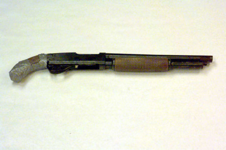 Eric Harris' pump-action shotgun, Columbine guns
