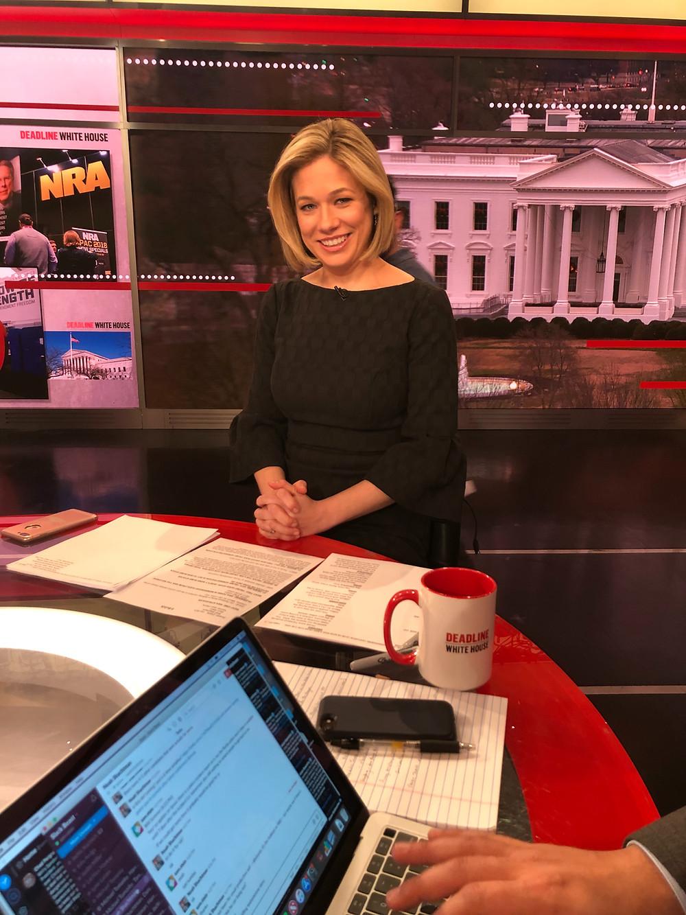 Elise Jordan Dave Cullen Parkland MSNBC Deadline Whitehouse 30 Roc