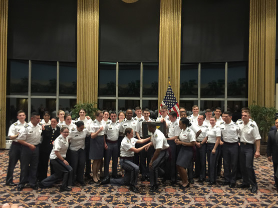 Spectrum West Point gay gala 2016 cadets, Knights Out