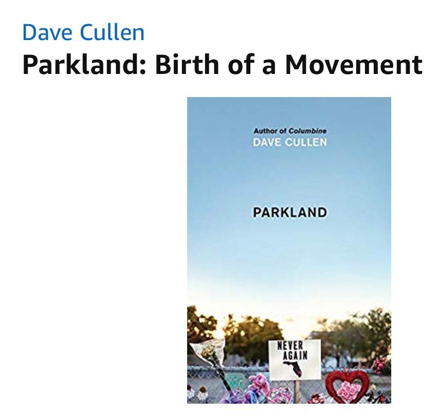 Parkland book, NeverAgain, Parkland Birth of a Movement, Marjory Stoneman Douglas High School