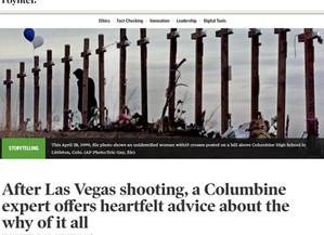 Poynter Q&A on Las Vegas & Columbine