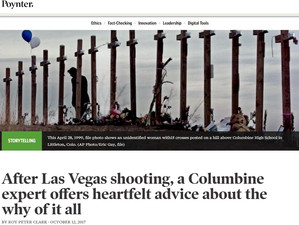 Poynter Q&A on Las Vegas & Columbine