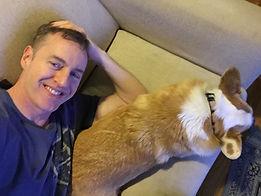 Bobby Sneakers Dave Cullen corgi dog
