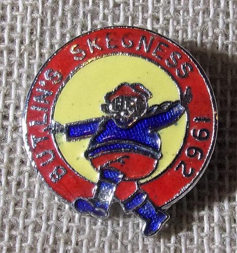 Butlin's Badge Skegness 1962