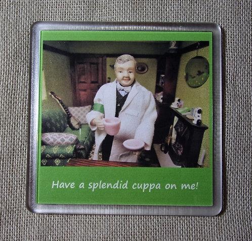 Coaster - Cuppa on me