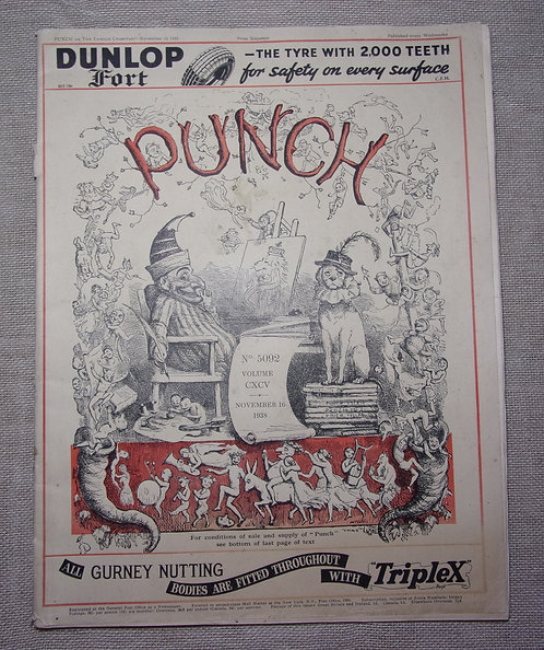 Punch magazine 1938