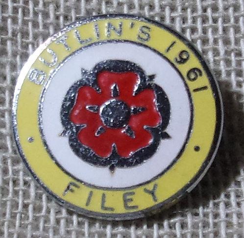 Butlin's Badge Filey 1961