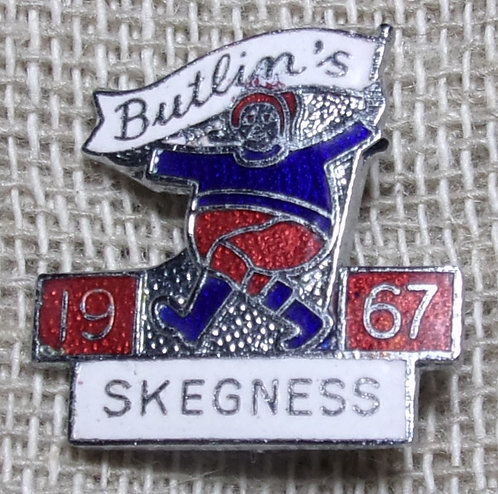 Butlin's Badge Skegness 1967