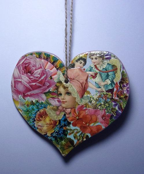 Decorative Heart Hanger 1