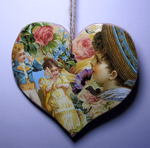 Decorative Heart Hanger 2