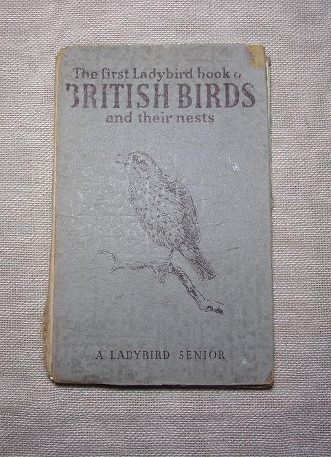 The First Ladybird Book of British Birds & Their Nests