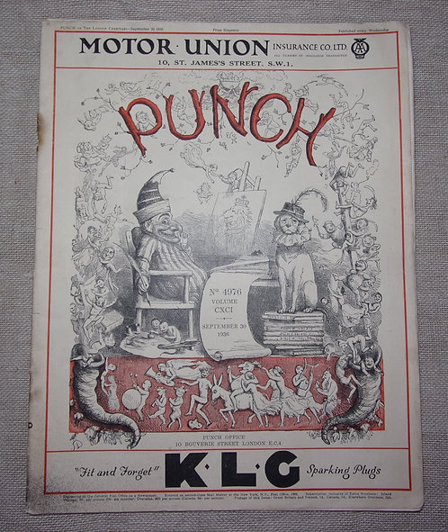 Punch magazine 1936