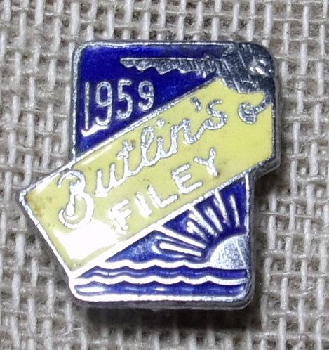 Butlin's Badge Filey 1959
