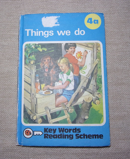 'Things We Do'. Key Words Reading Scheme