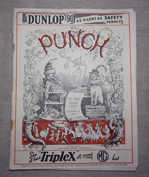 Punch magazine 1937