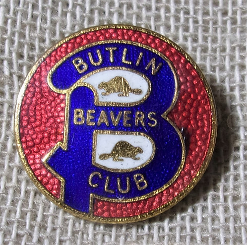 Butlin's Badge Beaver Club