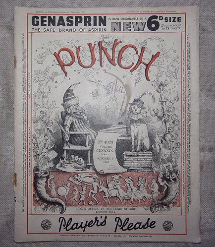 Punch magazine 1935