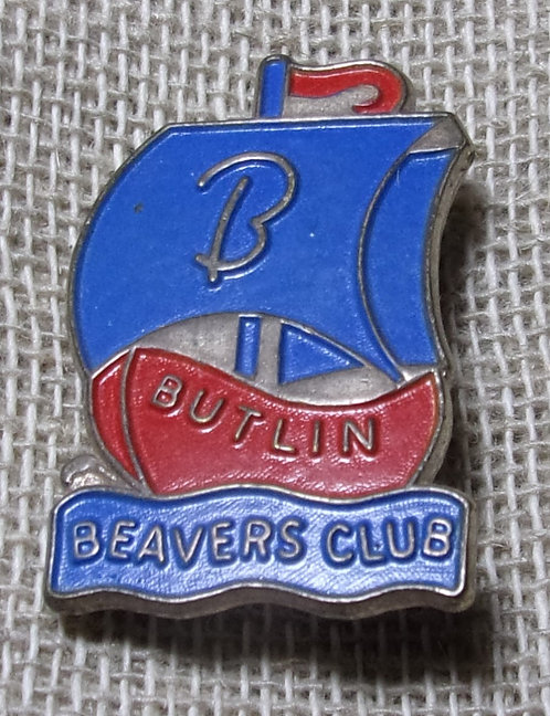 Butlin's Beaver Club Badge