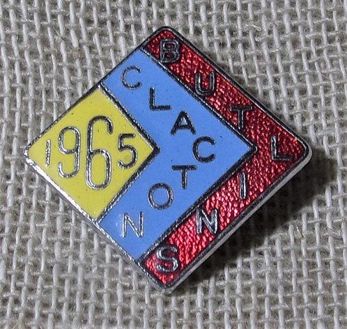 Butlin's Badge Clacton 1965