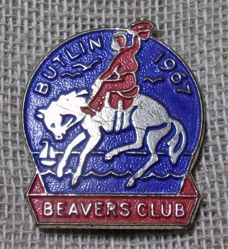 Butlin's Beaver Club Badge 1967