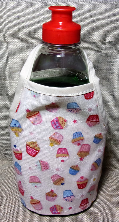 Washing Up Liquid Bottle Apron Buns