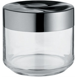 Alessi - Julieta Glass Kitchen Box by Lluís Clotet
