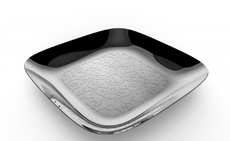 Alessi - Square Tray Dressed