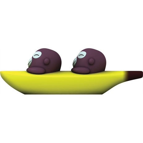 Alessi - Banana Bros Salt & Pepper Set