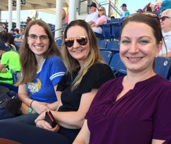 Enjoying an afternoon Hillsboro Hops baseball game