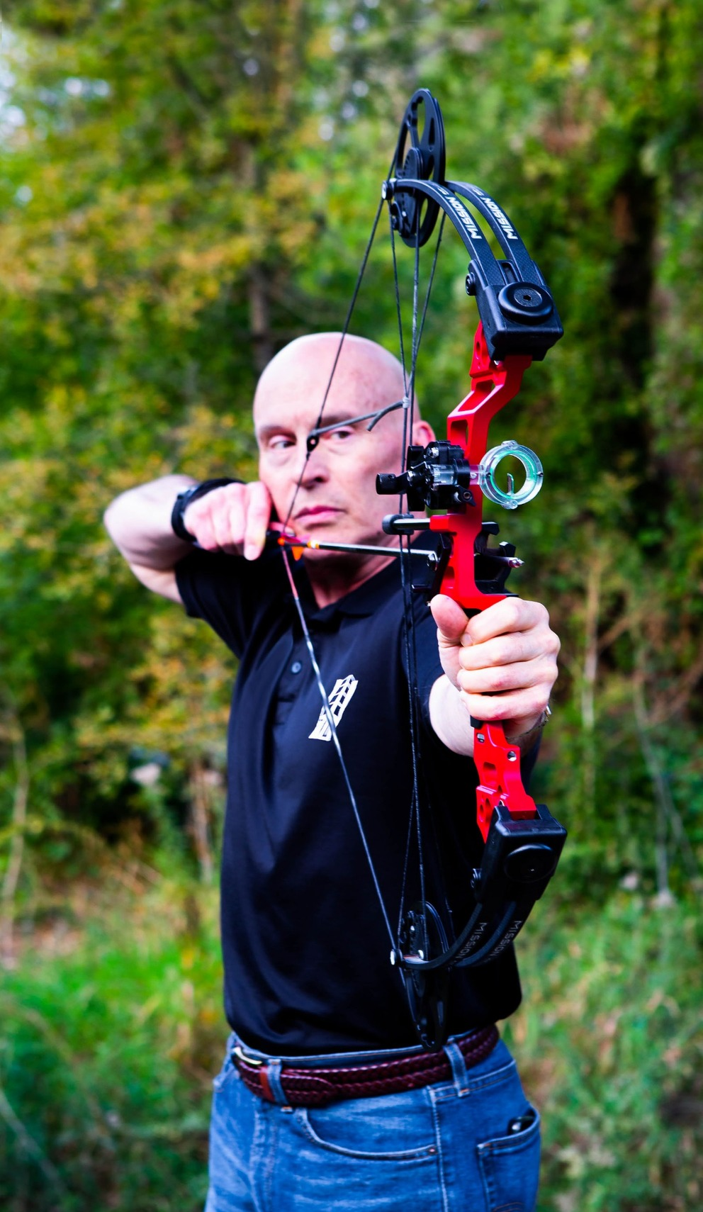 Our Managing Partner practices archery in his spare time