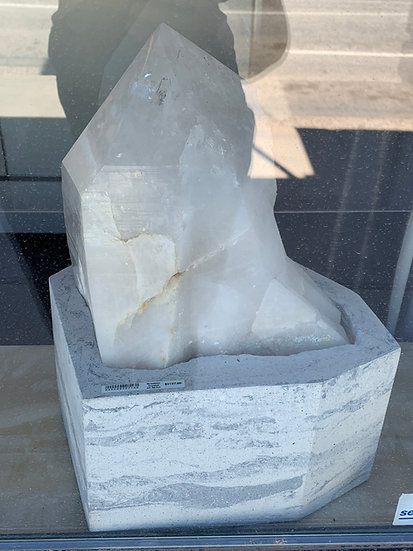 Crystal Lamp with base #1