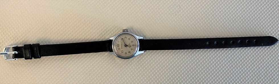 Women's Watch with Leather Band